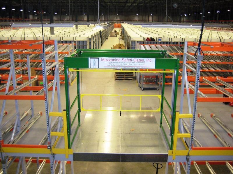 Mezzanine Safeti Gates Industrial Safety Gates